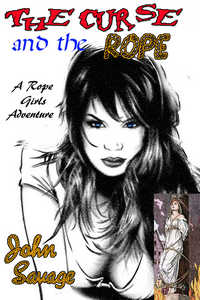 cover design for the book entitled The Curse and The Rope
