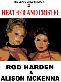 cover design for the book entitled HEATHER AND CRISTEL