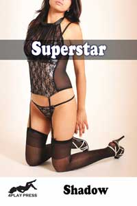 cover design for the book entitled Superstar