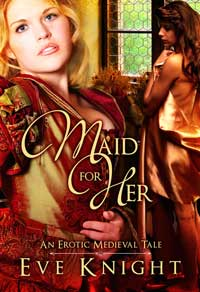 cover design for the book entitled Maid for Her