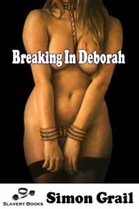 cover design for the book entitled Breaking in Deborah