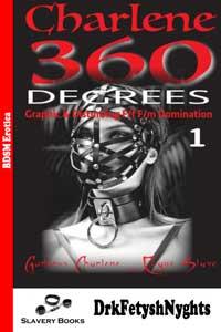 cover design for the book entitled Charlene 360 DEGREES - Part 1