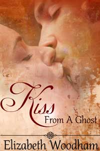 cover design for the book entitled Kiss From A Ghost