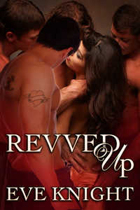 cover design for the book entitled Revved Up