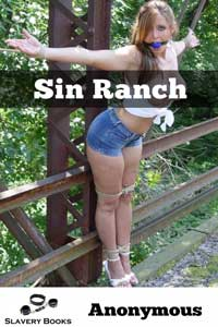 cover design for the book entitled Sin Ranch