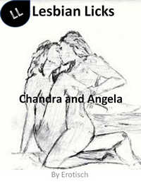 cover design for the book entitled Chandra and Angela