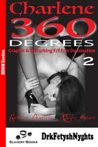 cover design for the book entitled Charlene - 360 DEGREES - Part Two