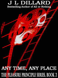 cover design for the book entitled Any Time, Any Place