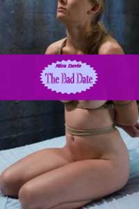 cover design for the book entitled THE BAD DATE