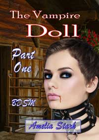cover design for the book entitled The Vampire Doll Part One: - Emergence
