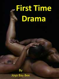 cover design for the book entitled First Time Drama