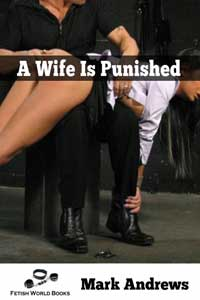 cover design for the book entitled A Wife Is Punished