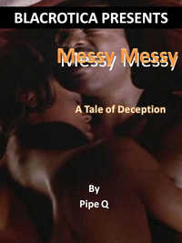 cover design for the book entitled Messy Messy