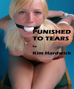 cover design for the book entitled PUNISHED TO TEARS