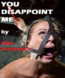 cover design for the book entitled YOU DISAPPOINT ME
