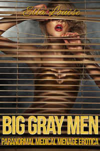 cover design for the book entitled Big Gray Men
