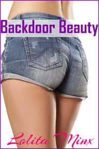 cover design for the book entitled Backdoor Beauty
