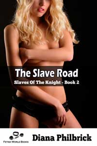 cover design for the book entitled The Slave Road