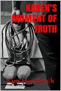cover design for the book entitled KAREN'S MOMENT OF TRUTH