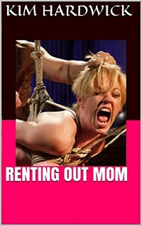 cover design for the book entitled RENTING OUT MOM