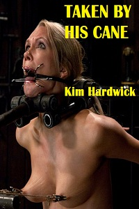 cover design for the book entitled TAKEN BY HIS CANE