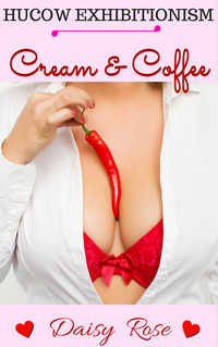 cover design for the book entitled Cream & Coffee