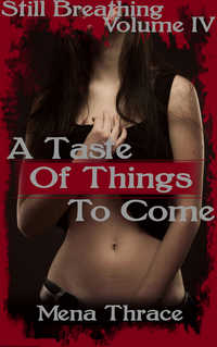cover design for the book entitled A Taste Of Things To Come