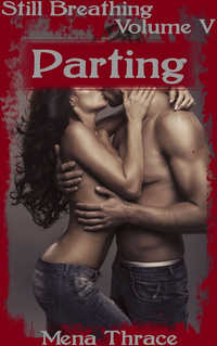 cover design for the book entitled Parting