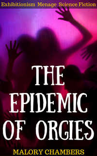 cover design for the book entitled The Epidemic of Orgies