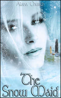 cover design for the book entitled The Snow Maid