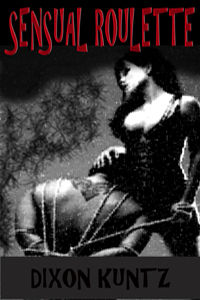 cover design for the book entitled Sensual Roulette