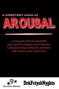 cover design for the book entitled A CONSTANT STATE OF AROUSAL