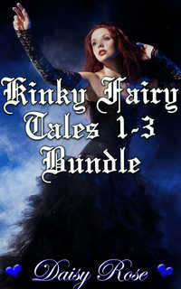 cover design for the book entitled Kinky Fairy Tales 1-3 Bundle