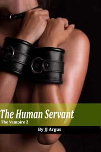 cover design for the book entitled The Human Servant