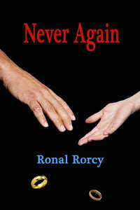 cover design for the book entitled Never Again