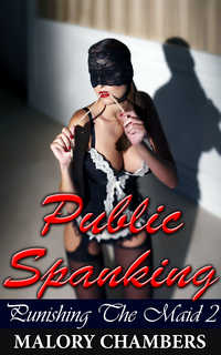 cover design for the book entitled Public Spanking