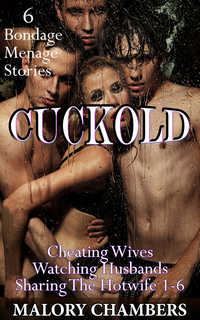 cover design for the book entitled Cuckold: 6 Menage Bondage Stories