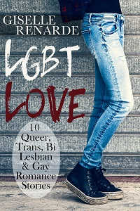 cover design for the book entitled LGBT Love