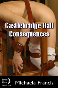 cover design for the book entitled Castlebridge Hall - Consequences