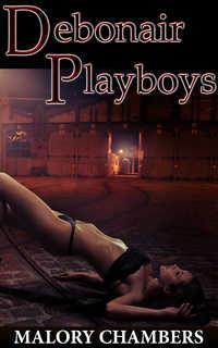 cover design for the book entitled Debonair Playboys