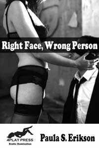 cover design for the book entitled Right Face Wrong Person