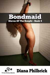 cover design for the book entitled Bondmaid