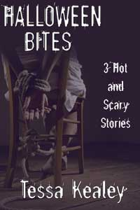 cover design for the book entitled Halloween Bites