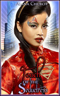 cover design for the book entitled Touch of the Seductress