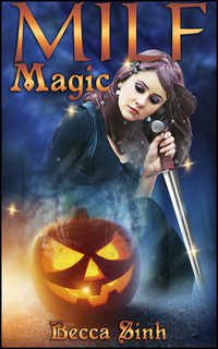 cover design for the book entitled MILF Magic