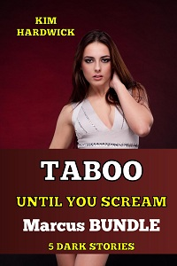 cover design for the book entitled TABOO UNTIL YOU SCREAM