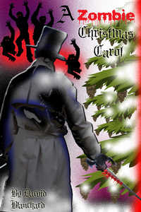 cover design for the book entitled A Zombie Christmas Carol