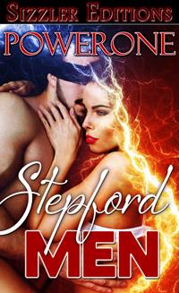 cover design for the book entitled Stepford Men