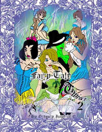 cover design for the book entitled Fairy Tale Twist 2
