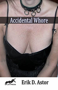 cover design for the book entitled Accidental Whore